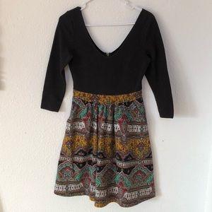 Maeve Paisley Dress